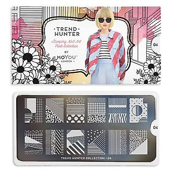 MoYou London Nail Art Image Plate - Trend Hunter 04 (MCTRE)