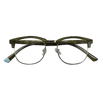 Reading Glasses Unisex Berlin Green Thickness +1.00