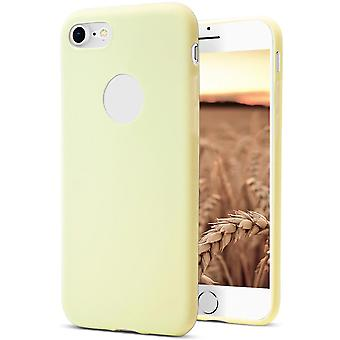 Shell pour Apple iPhone 7 Plus/8 Plus Champagne (Jaune) TPU Protection Case