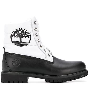 Timberland Ezcr023007 Men's Stivali alla caviglia in pelle nera