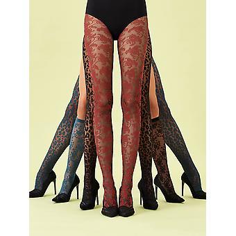 Oroblu Bicolour Lace Tights