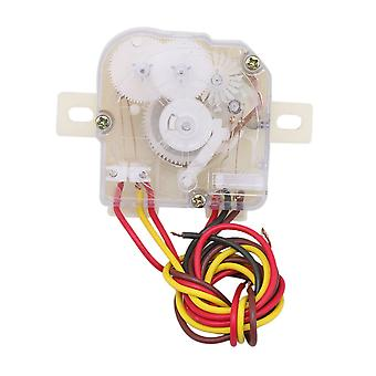 4 Wires Clothes Washer Control Timer Distance Holes 7.2cm