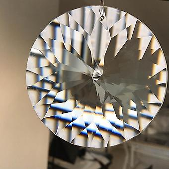 80mm  Arrow Head Cut-suncatcher, Chandelier Crystal Prism Pendant