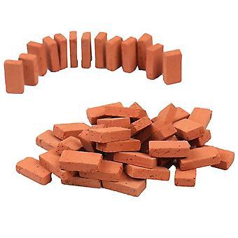 50stk 1/16 Dukkehus Miniature Simulation Brick Diy Sand Tabel Landskab
