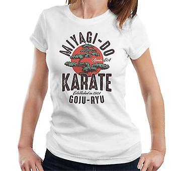 Miyagi Do Karate Kid Dojo Logo Naisten ja apos;s T-paita