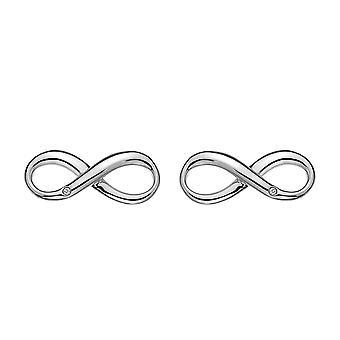 Hete diamanten Infinity oorbellen DE390
