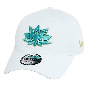 New Era Aladdin Lotus 9Twenty Cap - Optic White
