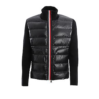 Moncler 9b51900a9418999 Men's Black Nylon Down Jacket