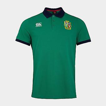 كانتربري والأسود الأيرلندية الأمم بولو قميص الرجال