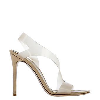 Gianvito Rossi G3184115ricgsvnude Women's Beige Pvc Sandals