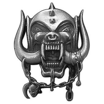 ראש מוטורי תג מתכת Warpig לוגו הלהקה החדשה דש מתכת רשמי