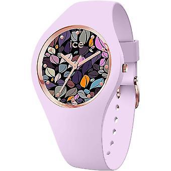 שעון קרח - שעון יד - גבירותיי - ICE פרח - עלי כותרת לילך - בינוני - 3H - 017580