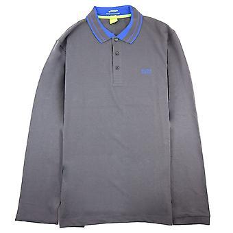 Hugo Boss Pleesy L/s Polo Shirt dunkelgrau SA26