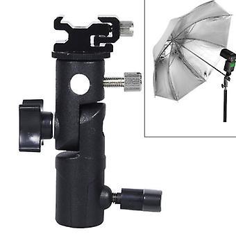 E-tyypin monitoiminen flash-valoteline sateenvarjokiinnike, maksimikuormitus: 3kg