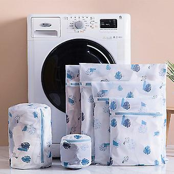 6 PCS Zipper Laundry Bag Washing Machine dedicated Dirty Wash Bag Underwear Sock Bra Laundry Basket Multi-size Washing Kits