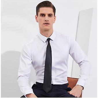 100% Puuvilla Sosiaalinen Muodollinen Pitkähihainen Business Office Slim Fit paidat