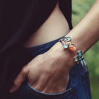 Open Solar System Cuff Bracelet