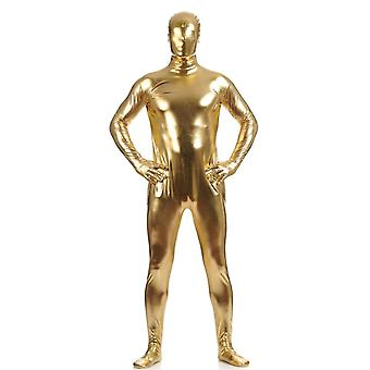 Metallic Spandex Bodysuit Shiny Catsuit Sexy Unisex Zentai Full Body Suit