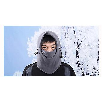 Winter Warm Full Face Mask Scarf For Ski Cycling Motorcycle Snowboard (black