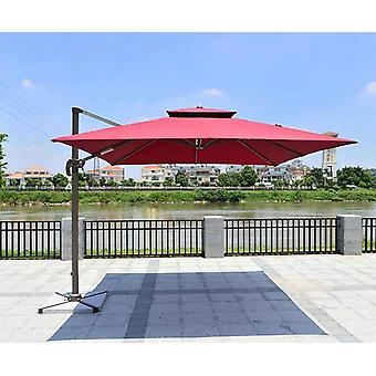 Patio Umbrella Square Garden Outdoor For Lawn Decoration