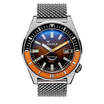 Squale MATICXSD.ME22 600 Meter Swiss Automatic Dive Wristwatch Mesh