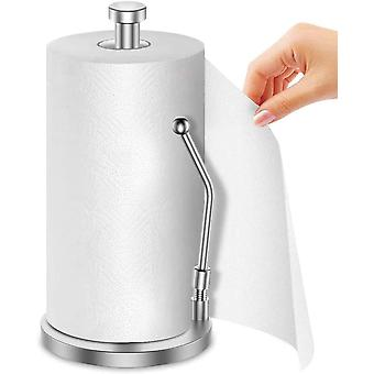 Paper Towel Holder, Food Grade 304 Stainless Steel Standing