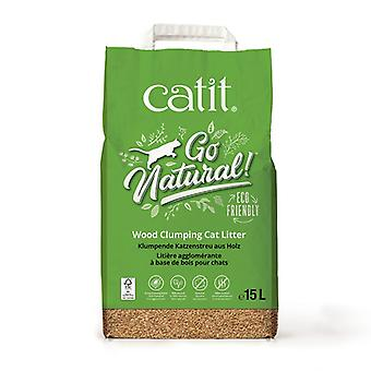 Catit Go Natural! Agglomerating Wood Sand (Cats , Grooming & Wellbeing , Cat Litter)