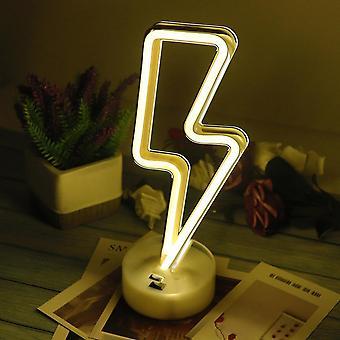 Led Neon Light Sign Star Moon Lamp Usb Led Night Lights Decoration
