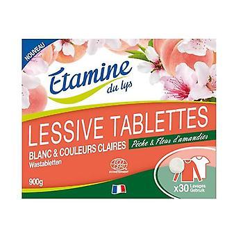 Laundry Detergent Tablets White Linen 30 units