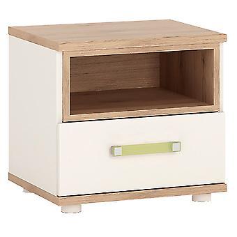 Kiddie 1 Drawer Bedside Cabinet