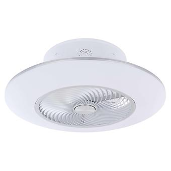 """Ceiling fan Kello 58cm / 23"""" with LED light and remote"""