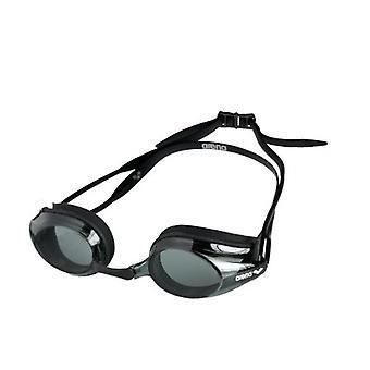 Arena spår simma Goggle - rök lins - svart ram