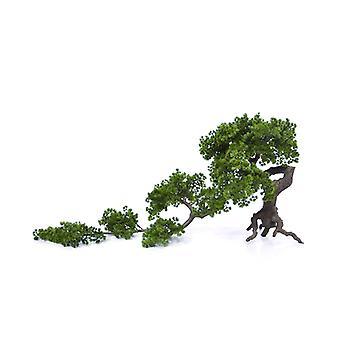 Konstgjord tall (Pinus) Bonsai träd 65x140 cm på bagageutrymmet