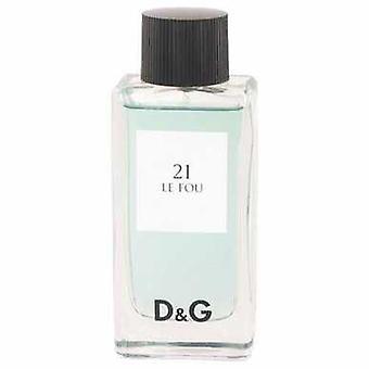 Le Fou 21 By Dolce & Gabbana Eau De Toilette Spray (tester) 3.3 Oz (men) V728-499760