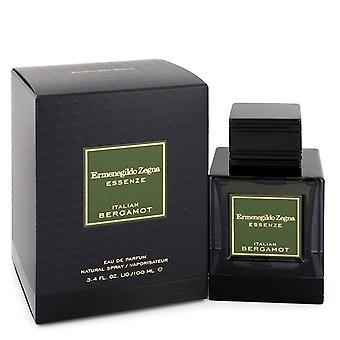 Bergamota italiana Eau De Parfum Spray por Ermenegildo Zegna 3.4 oz Eau De Parfum Spray