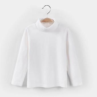 סתיו / חורף חולצת טריקו O-neck, שרוול ארוך חם, סווטשירט מזדמן עבור &