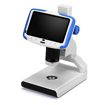 New high definition large screen industrial maintenance digital microscope adjustable lcd display 1080p scope soldering tool