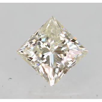 Sertifioitu 0,34 karat I VVS1 Princess Enhanced Natural Loose Diamond 3,85x3,82mm