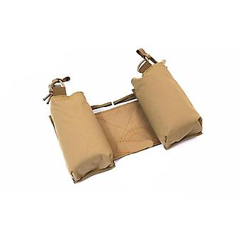 2pcs Chassis Mk3 Chest Rig Side Pouches For Radio Walkie Talkie