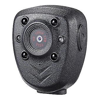 Hd 1080p Police Body Lapel Worn Video Camera Dvr Ir Night Visible Led Light Cam