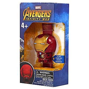 Lego BulbBotz Infinity War Iron Man Quartz Watch 2021852