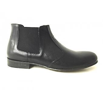 Men's Shoes Gas Nicola Barbato Polish Beatles Black Craft Us15nb06