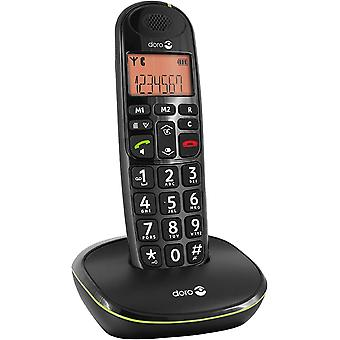 Wokex PhoneEasy 100w DECT Schnurlostelefon Freisprechen schwarz