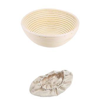 Handmade bohemian rattan wicker food storage baskets