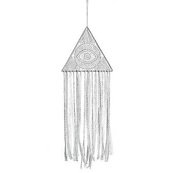 Triangle Eyes Dreamcatcher Wall Hanging Pendant Knitted Woven Tapestries Lace Pendant