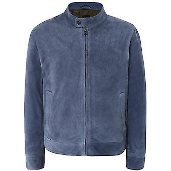 Pal Zileri Suede Blouson Jacket