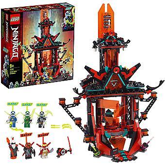 FengChun LEGO 71712 NINJAGO Empire Tempel des Unsinns, Bauset mit 6 Minifiguren, Ninja Spielzeug fr