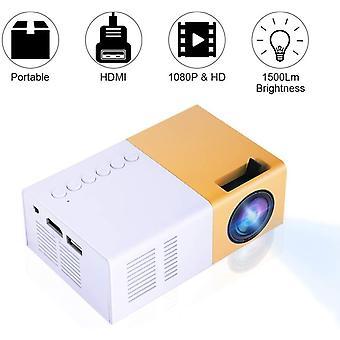 FengChun Mini-LED-Projektor, LED-Heimprojektor 720P, 1080P 10 bis 60 Zoll