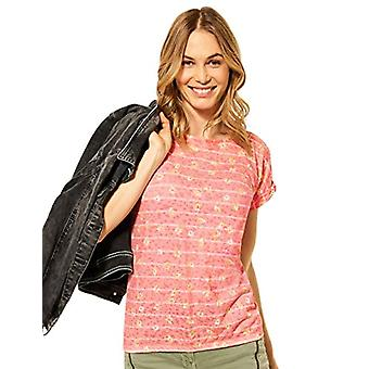 Cecil 316278 T-Shirt, Coral, XXL Woman