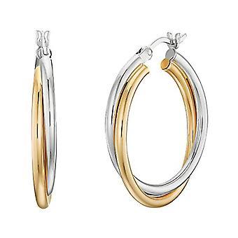 NOELANI Silver hoop earrings 925(12)